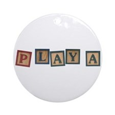 Playa Ornament (Round)