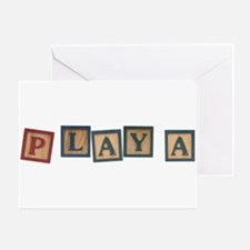 Playa Greeting Card