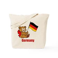 Germany Teddy Bear Tote Bag