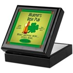 Murphy's Irish Pub Keepsake Box