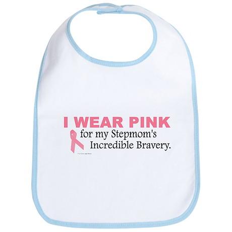 Pink For My Stepmom's Bravery 1 Bib