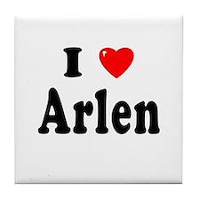 ARLEN Tile Coaster