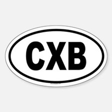 CXB Oval Decal
