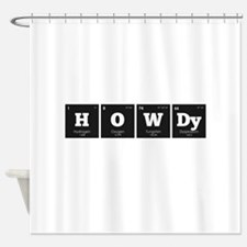 Periodic Elements: HOWDy Shower Curtain