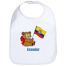 Ecuador Teddy Bear Bib