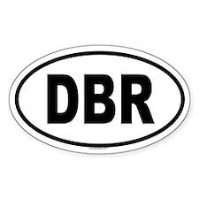 DBR Oval Decal