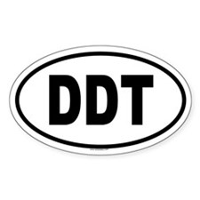 DDT Oval Decal