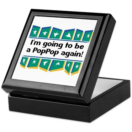 I'm Going to be a PopPop Again! Keepsake Box