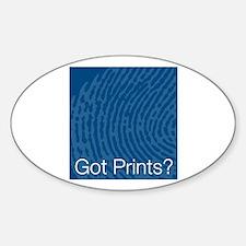 Got Prints? Oval Decal