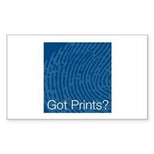 Got Prints? Rectangle Decal