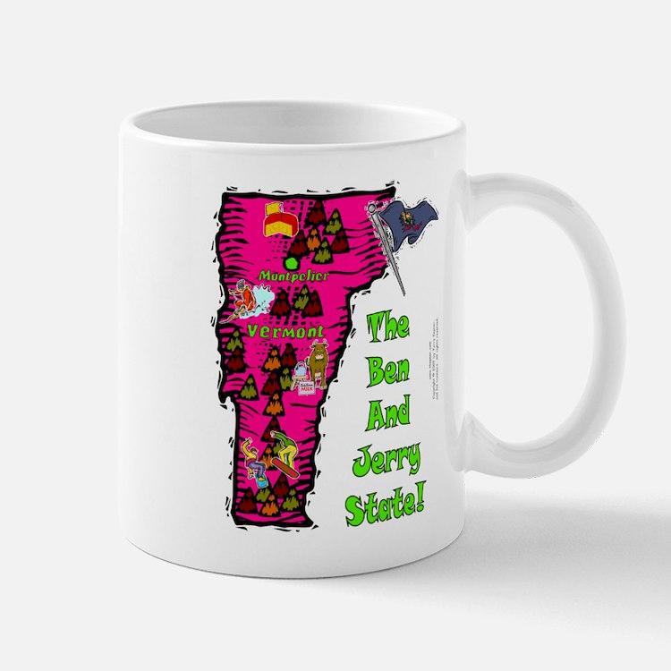 VT-Ben & Jerry! Mug