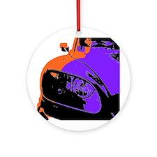 Citroen DS Ornament (Round)