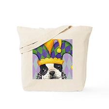 Party Boston Terrier Tote Bag