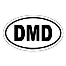 DMD Oval Decal