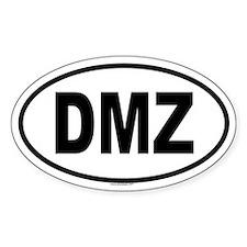 DMZ Oval Decal