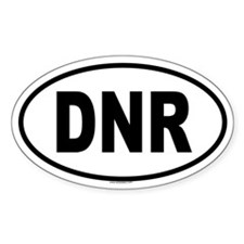 DNR Oval Decal
