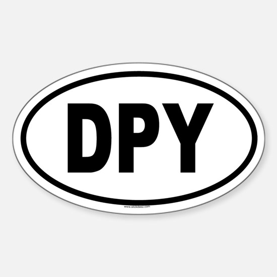DPY Oval Decal