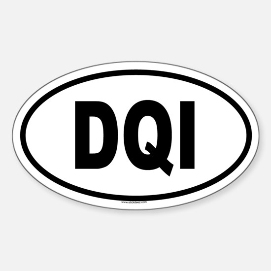 DQI Oval Decal