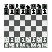 Chessboard Tile Coaster