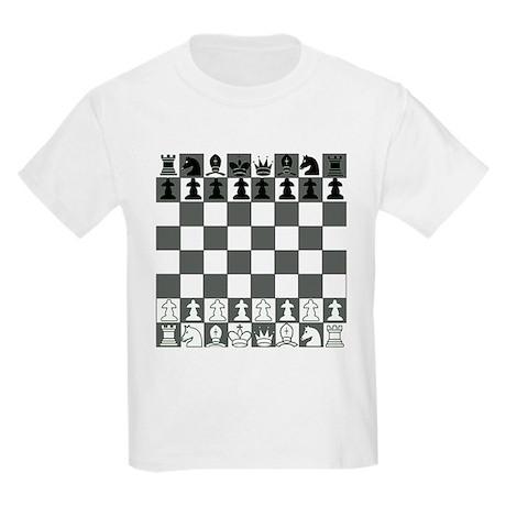 Chessboard Kids Light T-Shirt
