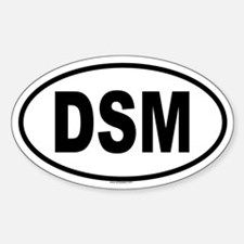 DSM Oval Decal
