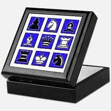 Chess Collage Keepsake Box