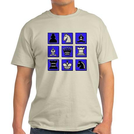 Chess Collage Light T-Shirt