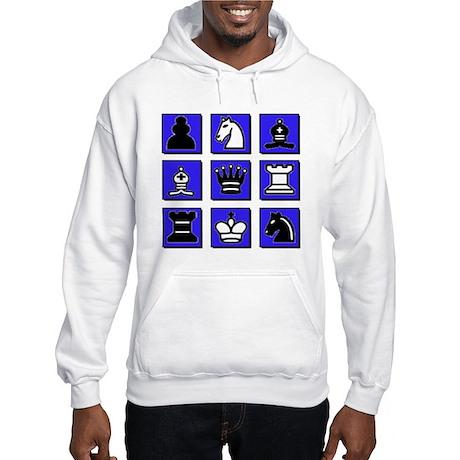 Chess Collage Hooded Sweatshirt