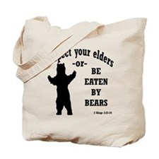 Respect your elders Tote Bag