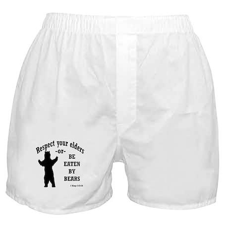 Respect your elders Boxer Shorts