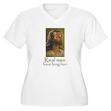 Real men have long hair T-Shirt