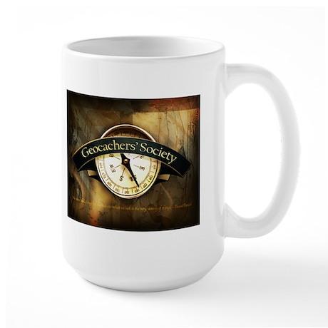Geocachers' Society Large Mug