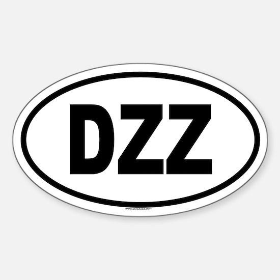 DZZ Oval Decal