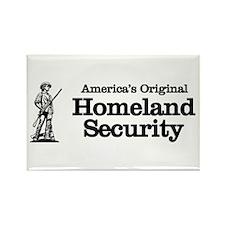 Homeland Security Rectangle Magnet
