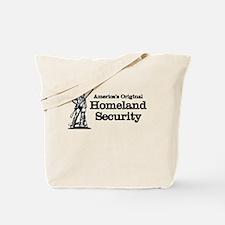 America's Original Homeland Security Tote Bag