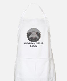 Who's vacuuming your floors right now? BBQ Apron