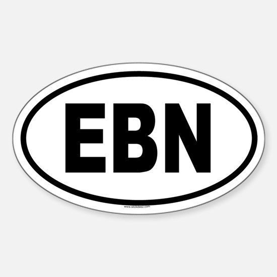 EBN Oval Decal