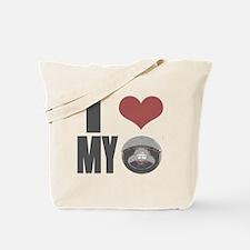 I love my roomba Tote Bag