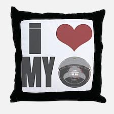 I love my roomba Throw Pillow