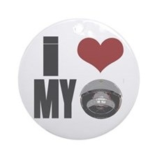 I love my roomba Ornament (Round)