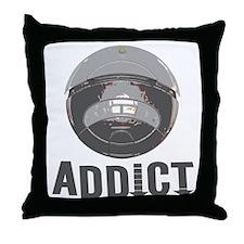 Roomba Addict Throw Pillow