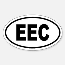 EEC Oval Decal