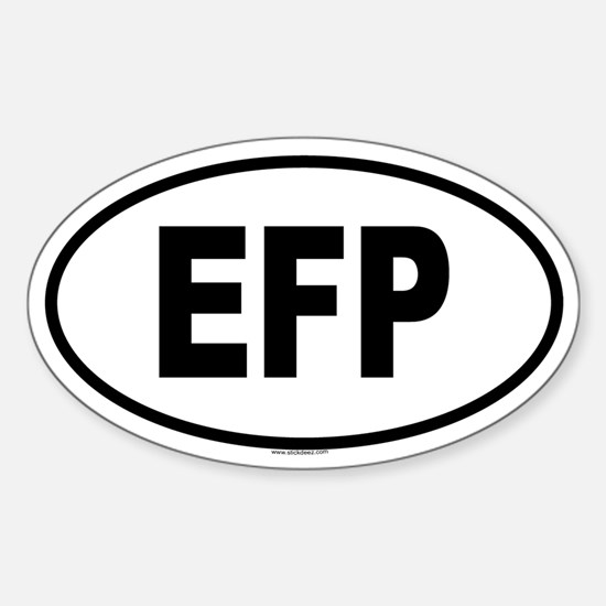 EFP Oval Decal