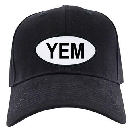 Yemen Oval Black Cap