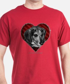 Beagle Mix Valentine T-Shirt