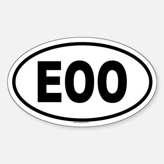 EOO Oval Decal