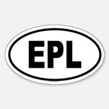 EPL Oval Decal