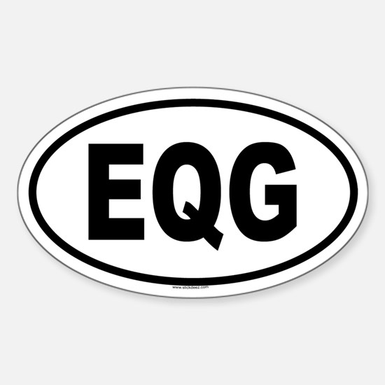 EQG Oval Decal