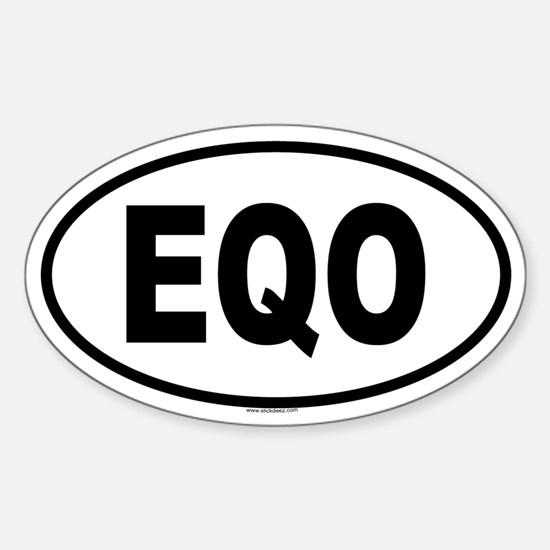 EQO Oval Decal