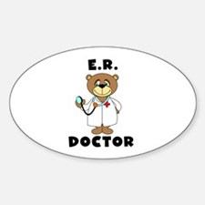ER Doctor Oval Decal